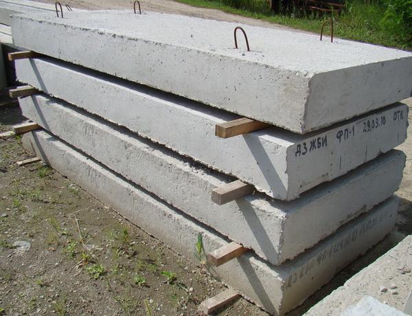 Фундаментные подушки - размеры по ГОСТ, подсыпка, песчаная и бетонная подготовка 2