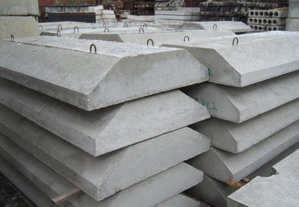 Фундаментные подушки - размеры по ГОСТ, подсыпка, песчаная и бетонная подготовка 4