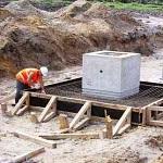 Фундаментные работы - стоимость заливки фундамента за куб 1