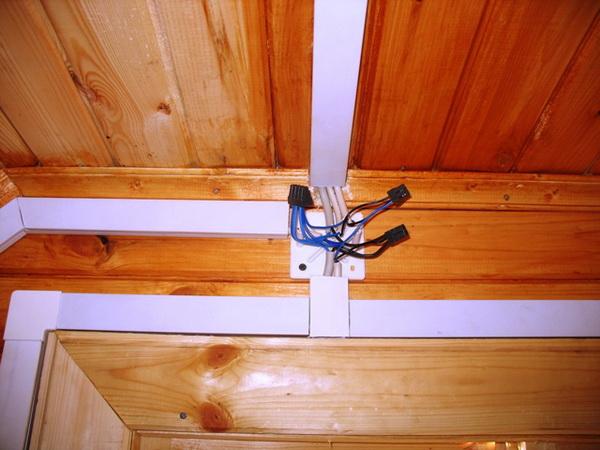 Наружная проводка в деревянном доме - правила и прокладка проводки 4