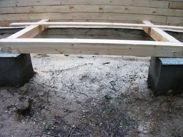 Открытая веранда к деревянному дому 3