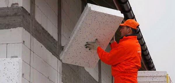 Правильное утепление газобетонных стен снаружи - можно ли утеплять газобетон пенополистиролом 4
