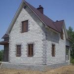 Типовые проекты домов из пеноблоков в частном строительстве 1