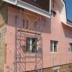 Современные утеплители для наружных стен частного дома 1