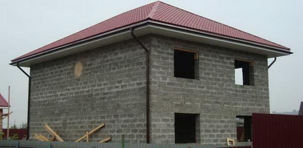 Возможные варианты постройки домов из арболита 2