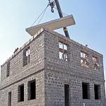 Возможные варианты постройки домов из арболита 1