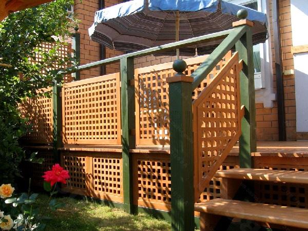 Пристройка крытой веранды к частному дому 3