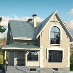 Оригинальные проекты домов с цокольным этажом 1