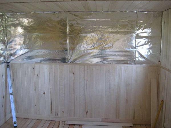 Как правильно утеплить стены в бане изнутри – способы и варианты 5