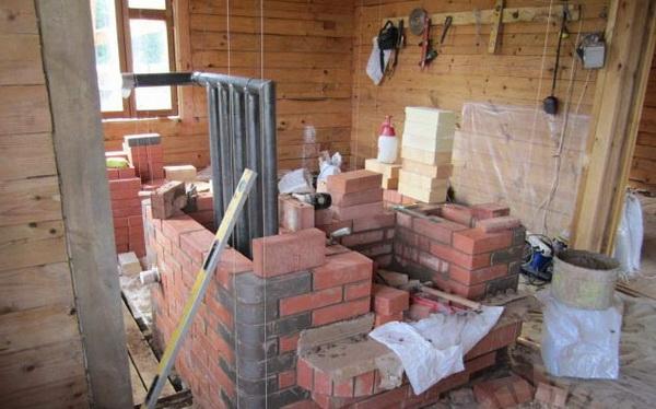 Водяное отопление от печи на дровах - схема и правильный монтаж 2