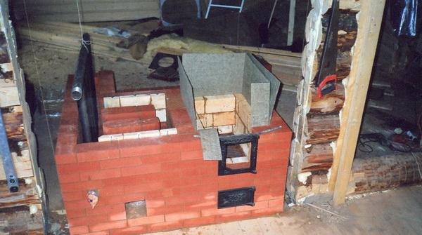 Водяное отопление от печи на дровах - схема и правильный монтаж 5