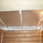 Потолок в бане своими руками - пошаговое руководство 1