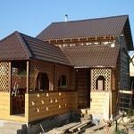 Проекты бань с беседкой под одной крышей - 5 классических вариантов 1