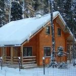 Можно ли строить жилой дом из бруса зимой 1